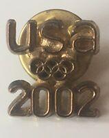 2002 USA Olympic Pin Salt Lake City Utah Winter Olympics Team USA Sports Pin