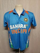 Sahara India Cricket Adult Size 34 Blue Jersey