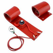 55Gallon 200L Silicone Band Drum Heater Oil Biodiesel Metal Barrel 1000W 110V