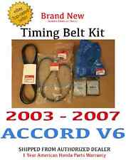 2003-2007 Honda ACCORD V6 Genuine OEM Honda Timing Belt Package