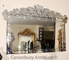 Glass Venetian 20th Century Antique Mirrors