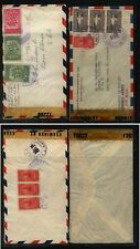 Costa Rica 2 nice censor covers #12627 and 12288 Kl0216