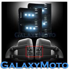 F250+F350+F450+F550 Super Duty 2008-2015 Side Mirror Light WHITE LED Smoke FORD