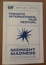 NEW* TIFF 2019 Midnight Madness Mini-Program Toronto International Film Festival