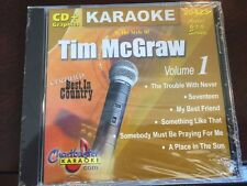 CHARTBUSTER 6+6 KARAOKE DISC 20423 TIM MCGRAW CD+G COUNTRY MULTIPLEX