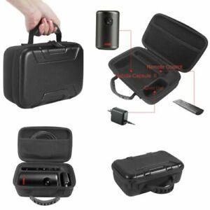 For Nebula Capsule II Mini Projector Shockproof Hard Case Storage Bag Protector