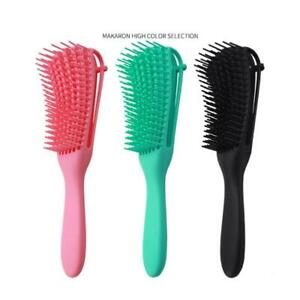 Detangling Brush with Double Side Edge Brush for for Kinky Curly/Coily Hair