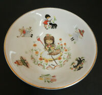 Vintage Arklow Republic Of Ireland Ironstone Cereal Bowl Nursery Rhymes