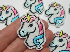 1 x  unicorn horse patche  badges for clothing iron on embroidered