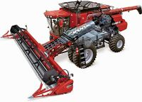 A3 Case IH 8120 Combine Cutaway Agriculture Wall Poster Brochure Art Picture