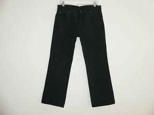 Wrangler REGULAR FIT Herren Jeans W32/L30 schwarz Top Zustand