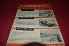 Ferguson Tractor Earthmoving Dealer's Brochure AMIL15