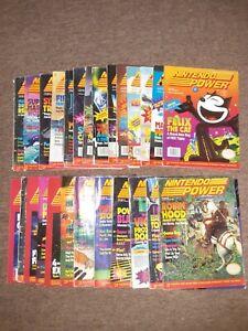 Nintendo power magazine lot 2