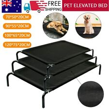 Heavy Duty Pet Dog Cat Bed Trampoline Hammock Canvas Cover Indoor Outdoor Large