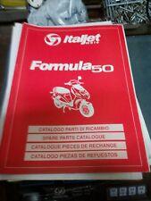 Katalog Ersatzteile Rahmen und Motor Italjet Formula 50
