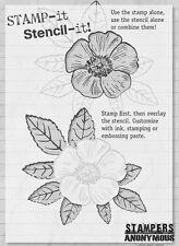 Stampers Anonymous taglio montato in piena fioritura STAMP It Stencil IT SISI 005 Fiori