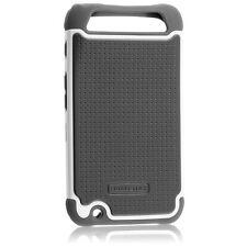 Motorola Atrix HD Ballistic Shell Gel Case Grey/White - SG0931-M385 - New