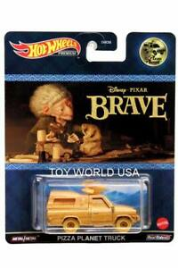 2021 Hot Wheels Replica Entertainment Pizza Planet Truck Disney Pixar Brave