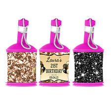 Personalised Glitter Effect DIY Party Popper WRAPPERS ONLY - Hen Night Birthday