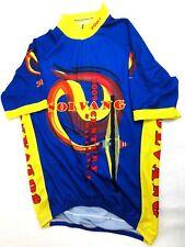 SQUADRA Mens 2009 Solvang Cycling Jersey Med Short Sleeves 3 Back Pockets  Shirt e88ea51de