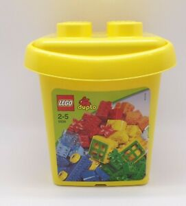 Lego Duplo 5538 in Yellow Storage Tub, Over 70 Pieces included