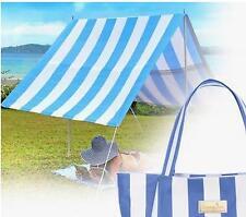NEW SUNNY JIM BYRON BAY BLUE SUNSHADE BEACH BAG ALUMINIUM CONNECTED POLE CAMPING