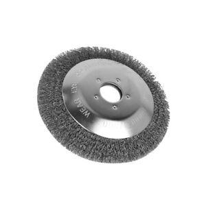 6in Steel Wire Wheel Grass Eater Trimmer Head Lawn Mower WeedingBrush Disc Part