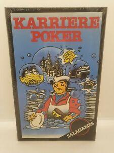 Karriere Poker,Salagames,Neu,OVP,Vintage,selten,rar,alt,Kartenspiel,Sammler