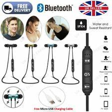 Bluetooth Wireless Running Gym Neck Sports PREMIUM Earphones Headphones with Mic