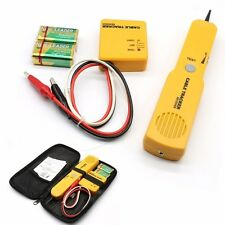 Cable Wire Tracker Tracer Toner probe Phone Network Interrupts Tester Finder UK