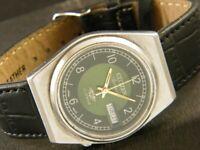VINTAGE CITIZEN AUTOMATIC 8200A JAPAN MEN'S DAY/DATE WATCH 258d-a133855-2