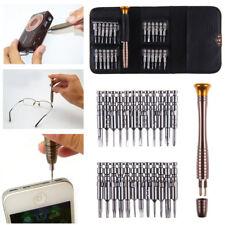 25 in 1 Mini Precision Screwdrivers Set Small Tiny Little Laptop Jewellers Craft
