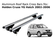 Aluminium Roof Rack Cross Bars fits Holden Cruze YG Hatch 2002-2006