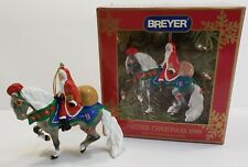 Breyer Father Christmas Ornament 1999 Holiday Horse 1st in Series