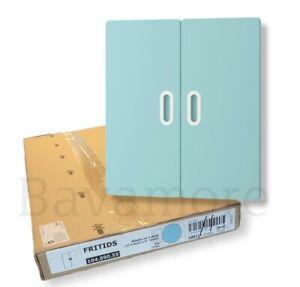 """IKEA FRITIDS Door light blue 23⅝""""X25¼"""" (2-PACK) BRAND NEW"""