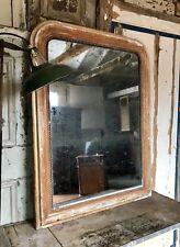 Fabulous vintage French gilt mirror With Mercury Glass
