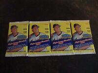 2000 Fleer Tradition Baseball---Hobby Packs---Lot Of 4---10 Cards/Pack