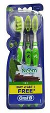 Oral-B 1.2.3 Toothbrush - Soft With Neem Extract ( 9 Brushes) Free Shipping