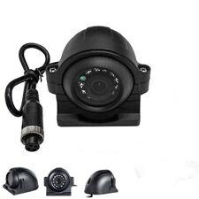 Heavy Duty 4 Pin 12 IR LED Night Vision Car Van Bus Side View CCD HD Camera Kit