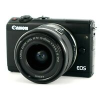 NEW Canon EOS M100 24.2MP Mirrorless Digital Camera with 15-45mm f/3.5-6.3 IS