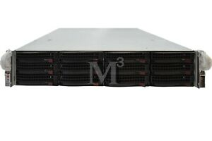 Supermicro 2U CSE-826 1028W 12+2 bay Server Chassis with X9DRW-CTF31 Motherboard