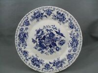 Churchill Oriental Garden Dark Blue dinner plate.