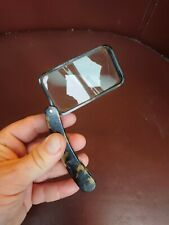 More details for antique faux tortoiseshell folding hand magnifying glass stylish rectangular