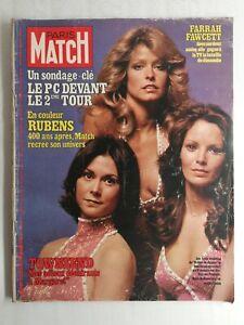 N1055 Magazine Paris-Match N°1499 17 février 1978 Farrah Fawcett, Rubens
