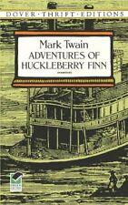 Adventures of Huckleberry Finn (Dover Thrift Editions),Mark Twain