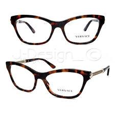 VERSACE MOD.3214 944 Tortoise Gold 52 16 140 Cat Eye Eyeglasses Rx 78007596a0