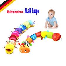 MusikWurm Babyspielzeug Baby Spielzeug Musik Raupe Plüschtier Mehrfarbig