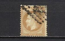 3543-FRANCIA CLASICO NAPOLEON 3º 1863 Nº28.10,00€ OK