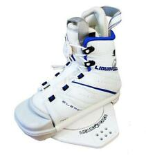 New listing Liquid Force Element Wakeboard Bindings White Boots Kids S/M 12C-4 with Blem B10