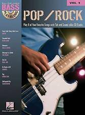 NEW Pop/Rock: Bass Play-Along Volume 3 (Hal Leonard Bass Play-Along)